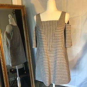 For Cynthia Sz L Linen/Cotton blend Tunic